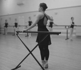 Ballet class 2 monochrome